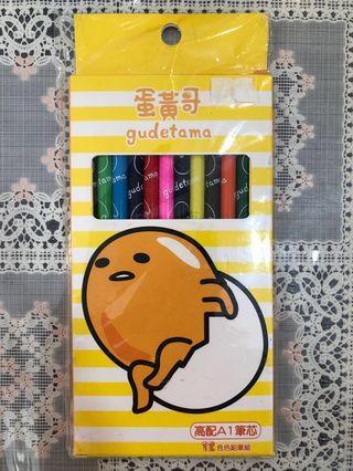 蛋黃哥 gudetama 木顏色 (12色)