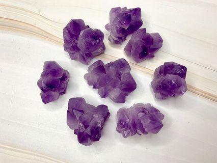 巴西天然小紫水晶簇