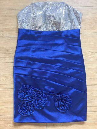 Blue Tube Dress