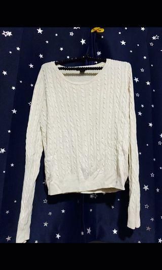 🚚 H&M Cable Knitted Top