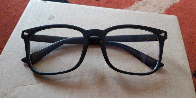 Frame kacamata + lensa anti radiasi