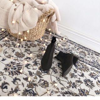 🚚 PAZZO 韓國經典百搭低筒襪靴  40號