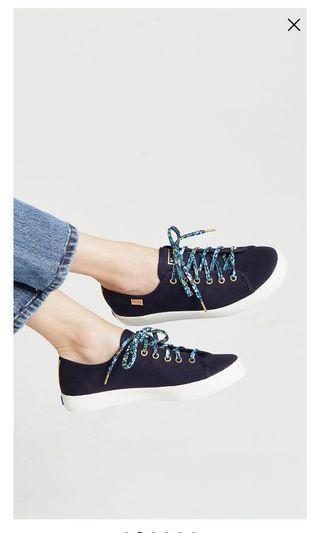 🚚 Keds Rifle Paper Blue Kickstart Sneakers