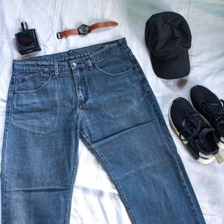 07347810 straight pants denim | Men's Fashion | Carousell Philippines