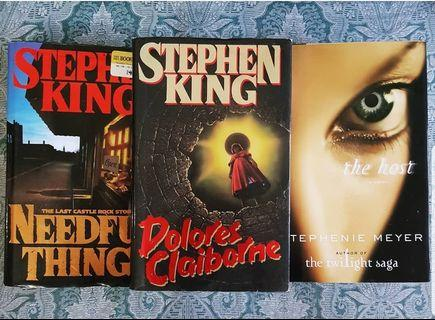 Needful Things by Stephen King / Dolores Claiborne by Stephen King
