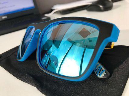 Polarised Italian Design Blue Tint Sunglasses