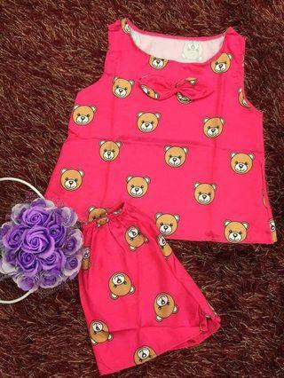 Bear cuties home wear