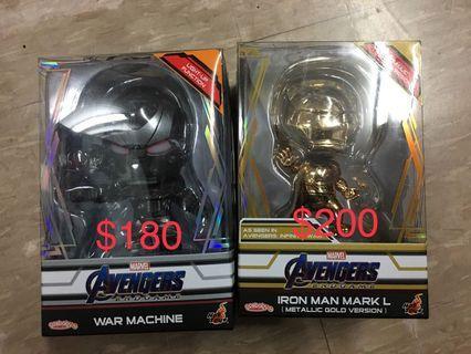 全新Hottoys The Avengers 4 Cosbaby 2款, 圖一有價
