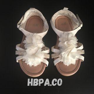 H&M White Sandal
