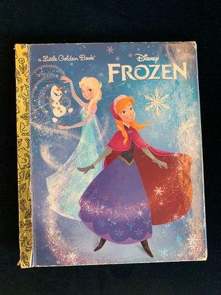 Disney Princess Frozen Golden Book