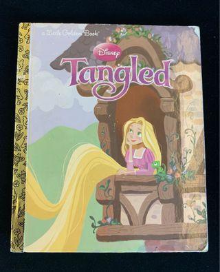 Tangled Rupunzal golden book Disney Princess