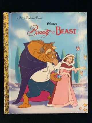 Beaty and the Beast Golden book Disney Princess