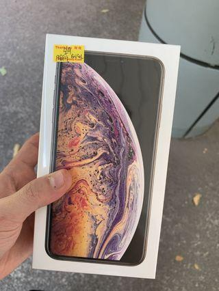 iPhone XS Max 256 gold sealed