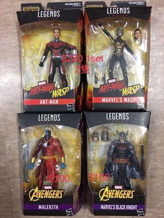 全新Marvel Legends 復仇者3 set 4款