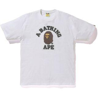 🚚 Bape Embroidery Style College Tee (S)