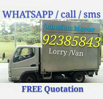 Mover lorry call 92385843 JohnsionMover