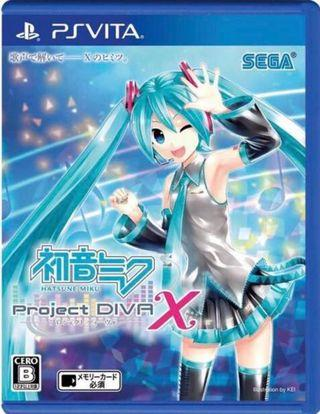 Hitsune Miku Project Diva X Playstation Vita
