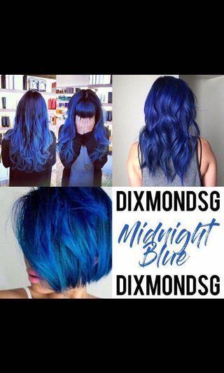 Midnight Blue / Denim Blue DixmondSG Hair Dye 100ML