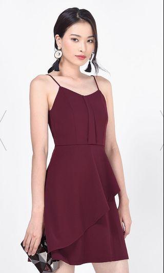 🚚 BNWT Keline Cascade Layered Dress