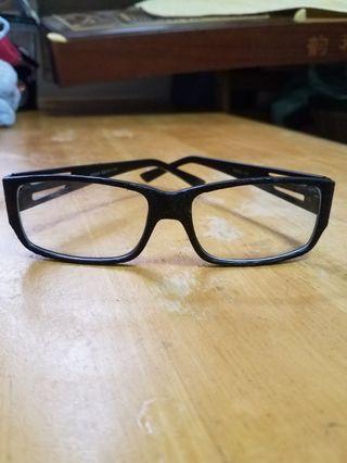 黑色平光眼鏡