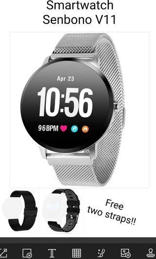 Smartwatch Senbono V11 Free Ongkir JABODETABEK