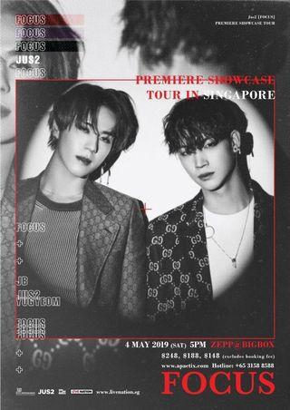 Jus2 in Singapore Tickets