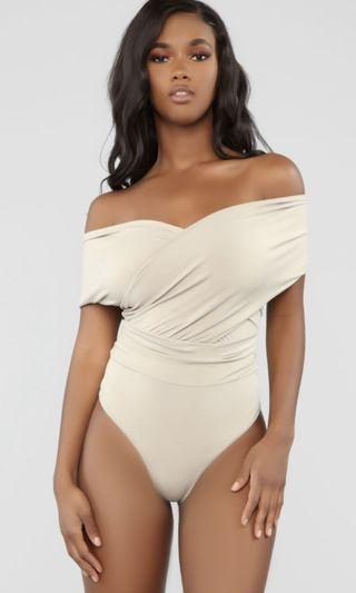 Fashion Nova Hello Sir Bodysuit