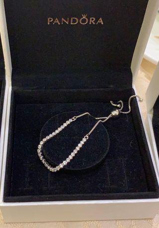 全新 Pandora 純銀手鏈 手鍊
