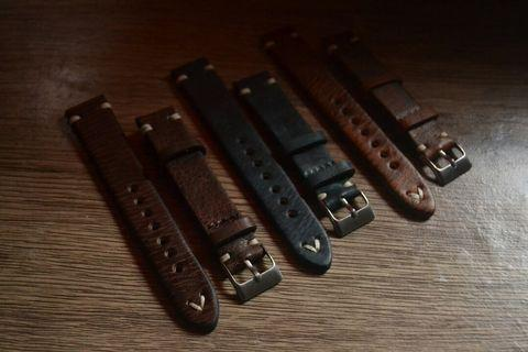 Premium watch straps 18mm and 20mm