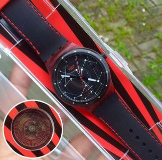 SWATCH SISTEM51 RED (SUTR400)