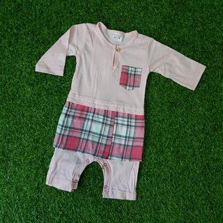 Baby Jumper Melayu ♡ Soft Pink ♡