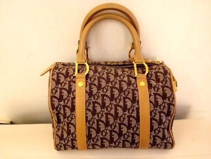 Dior 波士頓 vintage bag