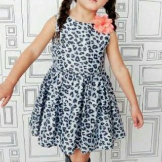 *FREE POST to West Malaysia only / Ready stock* Kids leopard design dress each as shown in design / color. Free delivery is applied for this item.