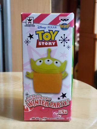 (日版) Toy Story World Collector Winter Party 三眼仔E款