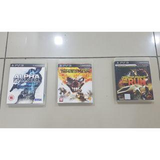 PS3 GAMES  (ORIGINAL WITH PAMPHLET)