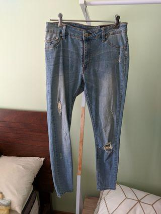 RES Skinny Light Blue Jeans