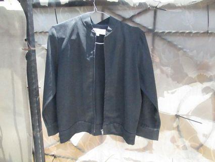 Black Bomber Jacket, include ongkir jabodetabek