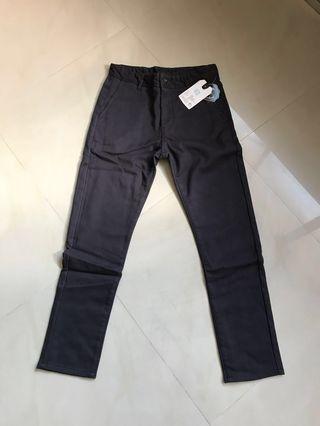 Men's winter wool pants (dark grey)