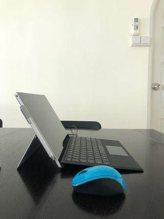New/used Microsoft Surface Pro 4 i5 2.4GHz 256GB 8GB RAM