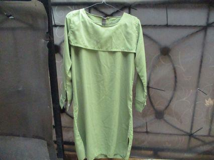 Dress Green, include ongkir jabodetabek
