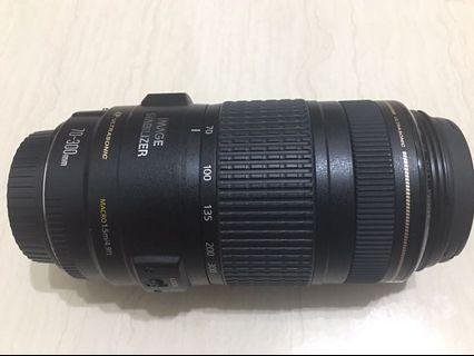 🚚 Canon 70-300mm f4-5.6 is usm 小小黑