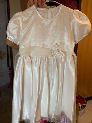 🚚 女童婚紗 花童裝 洋裝