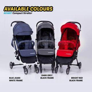 🌟Offer 🌟 Mamakiddies Aviant Light Weight Compact Cabin Size Baby Stroller