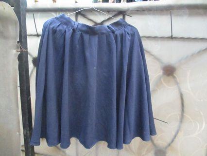 Navy Skirt, include ongkir jabodetabek