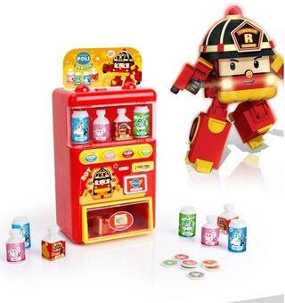 ✨Poli救援小英雄 自動販賣機玩具✨預購4/25結單-