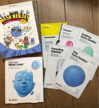 Dr Jart+ Mask Heroes 韓國面膜 set 免稅店限定商品 現貨