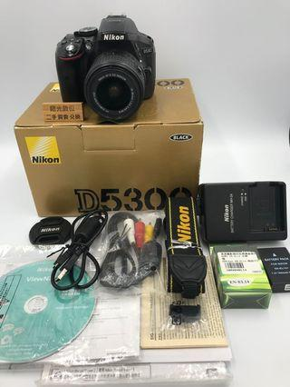 Nikon D5300 18-55mm 單眼相機 DSLR 二手