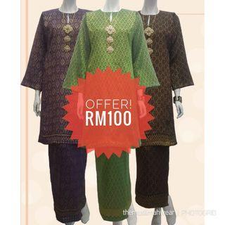 Kurung Pahang Razia Songket