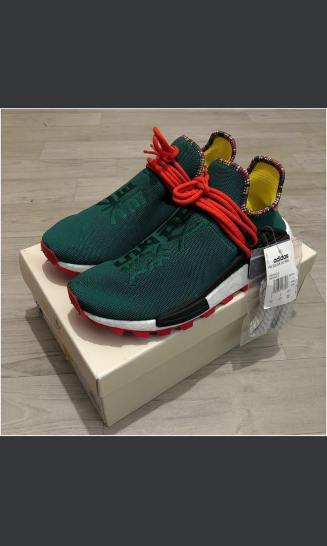 16a6e7209 100% Authentic Adidas Solar Hu NMD Trail x Pharrell Asian Exclusive ...