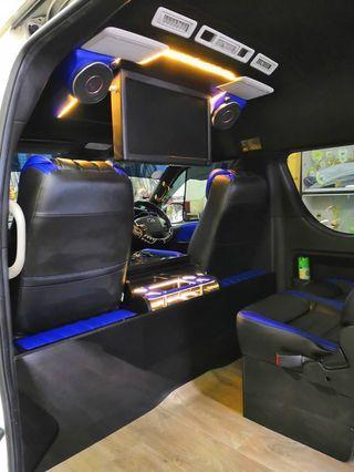 13 seater service